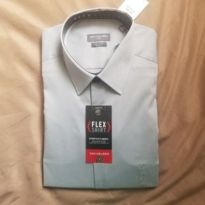 Van Heusen Flex Dress Shirt, Slim Fit, Stretch